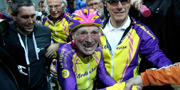 105 yaşında rekor!
