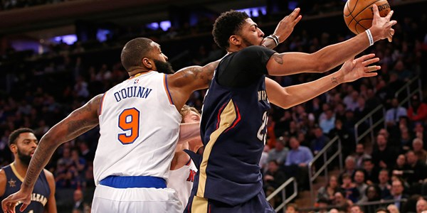 Anthony Davis'ten 3 çeyrekte 40 sayı
