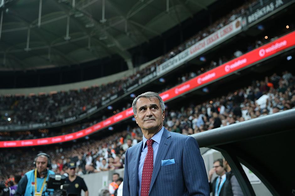 Beşiktaş Teknik Direktörü Şenol Güneş maçın ardından konuştu