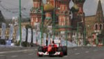Moskova'da Formula 1 rüzgarı!