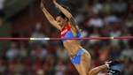 Isinbayeva altın madalyayla veda etti!