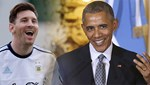 Messi'den Obama'ya cevap