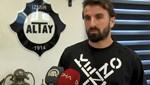 Erhan Çelenk, Rizespor maçındaki alkışlanacak hareketiyle ilgili konuştu: O golle galip gelsek, bana, Altay'a yakışmazdı