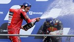 MotoGP'de Fransa ayağını Danilo Petrucci kazandı