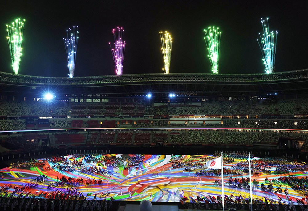 Tokyo Paralimpik Oyunları'nın açılış töreni yapıldı  - 6. Foto