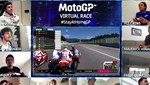 MotoGP pilotları sanal yarışta karşılaştı