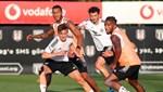 Beşiktaş'ta Rosier takımla çalıştı