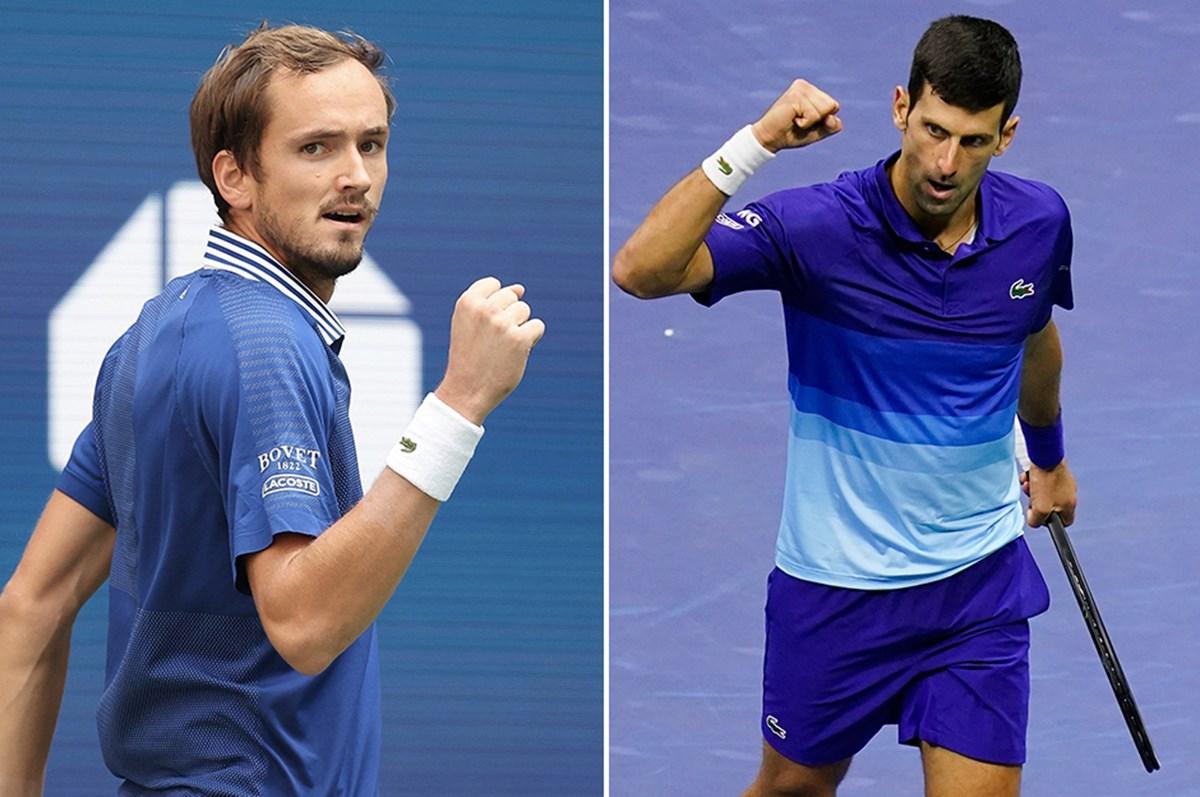ABD Açık'ta Djokovic-Medvedev finali!
