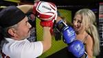 Sevgilisinden şiddet gördü, kick boksa başladı