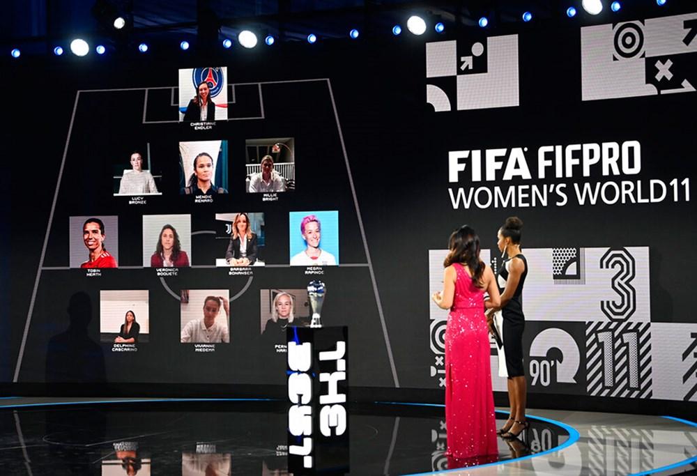 2020 FIFA En İyiler Ödülleri sahiplerini buldu  - 8. Foto
