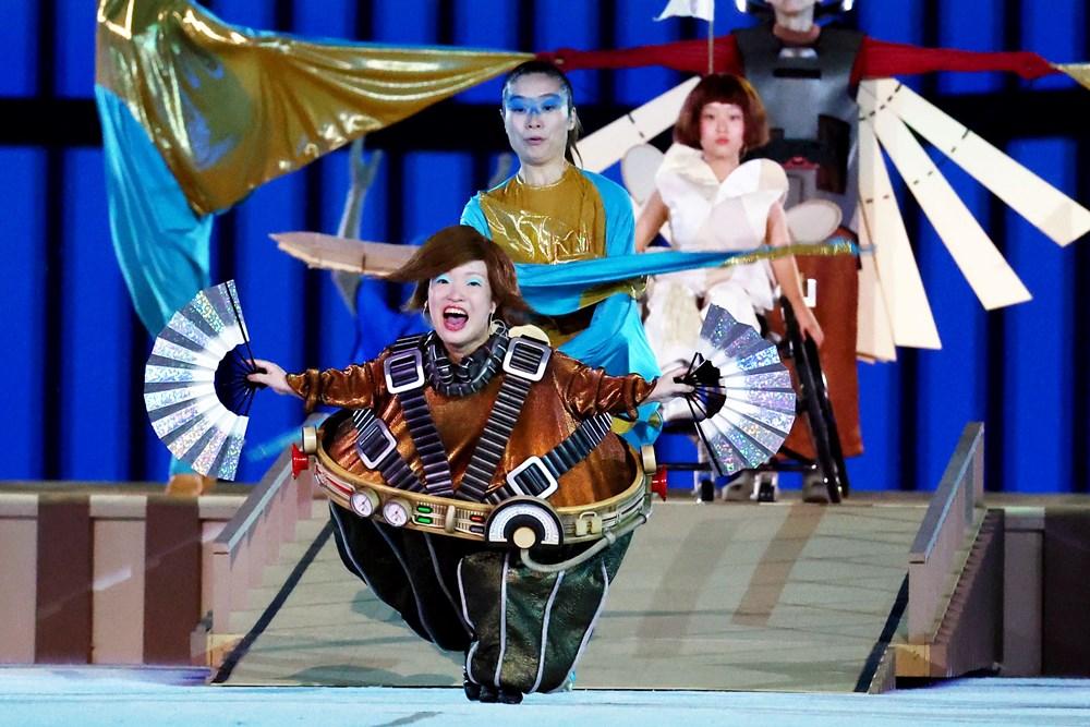 Tokyo Paralimpik Oyunları'nın açılış töreni yapıldı  - 1. Foto