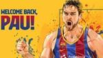 Pau Gasol resmen Barcelona'da