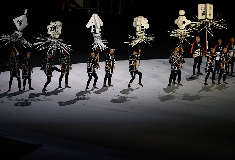 Tokyo 2020'nin açılış seremonisi gerçekleştirildi  - 9. Foto