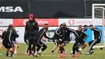 Beşiktaş'ın son antrenmanında Ljajic yer almadı