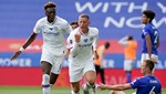 Chelsea, Çağlarlı Leicester'ı saf dışı bıraktı