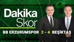 Dakika Skor (BB Erzurumspor-Beşiktaş)