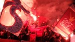 Basel - Trabzonspor maçında tribünlerde gerginlik!
