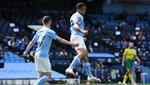 Manchester City 5-0 Norwich City (Maç sonucu)