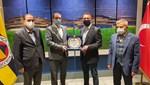 TAF Başkanı Fatih Çintimar'dan Fenerbahçe Kulübü Başkanı Ali Koç'a ziyaret