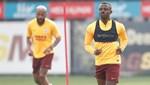 Galatasaray hazırlıklarını çift antrenmanla sürdürdü