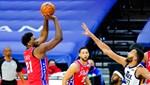 NBA liderlerinin mücadelesinde kazanan Philadelphia 76ers