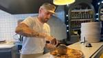Ramil Guliyev pizzacı açtı