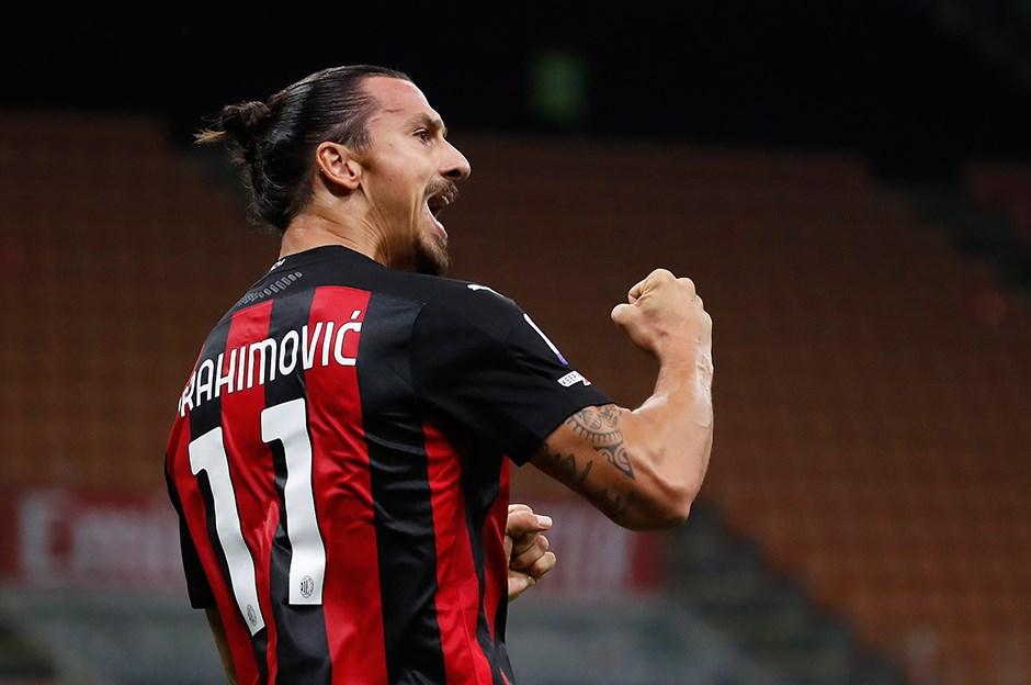 Zlatan Ibrahimovic, Milan'ı sırtladı   NTVSpor.net