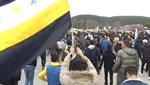 TFF önünde sarı-lacivert protesto