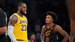 Lakers seriye bağladı, LeBron eski takımına acımadı