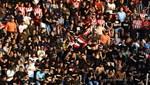 PSV taraftarları tribünleri doldurdu