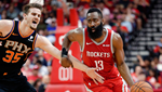 Houston Rockets'tan üçlük rekoru