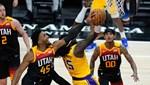 Utah kasırgası Lakers'ı da yıktı