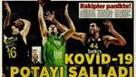 Sporun manşetleri (22 Mart 2020)