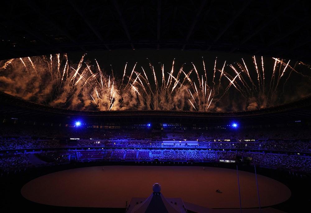 Tokyo 2020'nin açılış seremonisi gerçekleştirildi  - 4. Foto