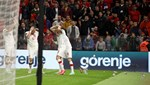 Tribün olayları Arnavutluk-Polonya maçını durdurdu