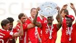Bayern Münih 30. zaferini kutladı