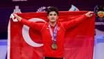 Muhammed Furkan Özbek'ten iki altın, bir bronz madalya
