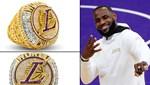 Lakers'ın tarihi şampiyonluk yüzüğü