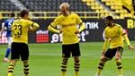 Borussia Dortmund-Schalke 04 maçından kareler