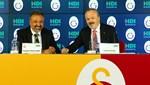 Galatasaray'dan sponsorluk anlaşması