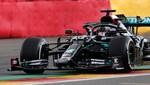 Belçika Grand Prix'si: Lewis Hamilton podyumun en üst sırasında