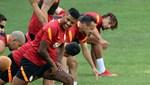 Galatasaray'da Patrick van Aanholt ilk antrenmanına çıktı