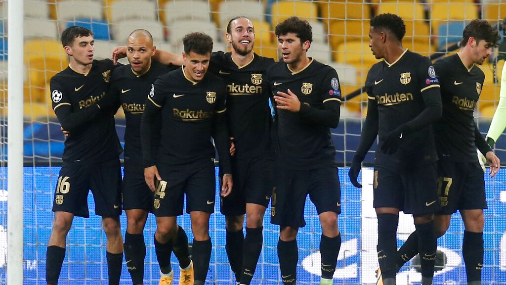 Dinamo Kiev 0-4 Barcelona (Maç sonucu)