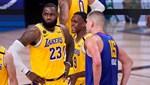 Final serisinde ilk raunt LA Lakers'ın