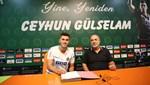 Alanyaspor'dan Ceyhun Gülselam'a yeni sözleşme