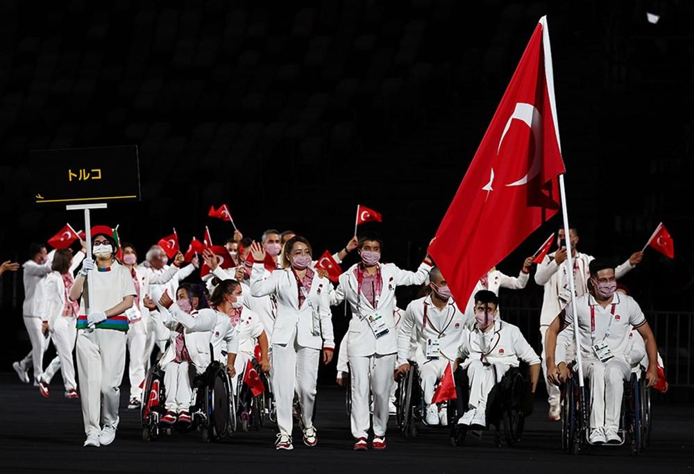 Tokyo Paralimpik Oyunları'nın açılış töreni yapıldı  - 5. Foto