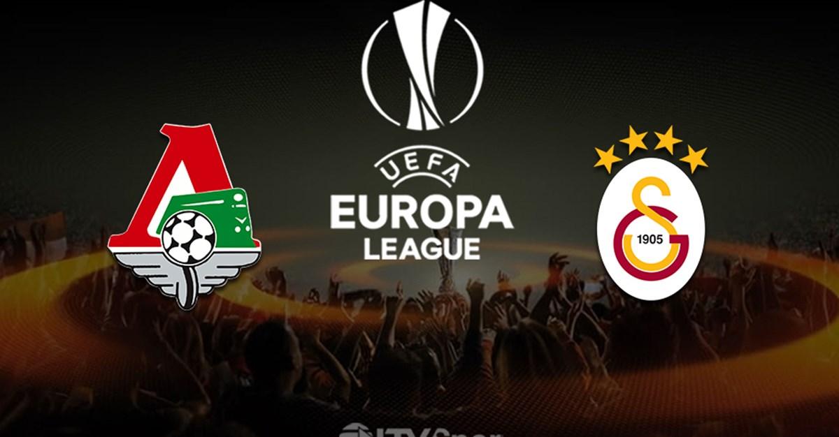 Lokomotiv Moskova - Galatasaray (Canlı Anlatım)