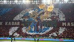 Trabzon'da imalı Fenerbahçe koreografisi!