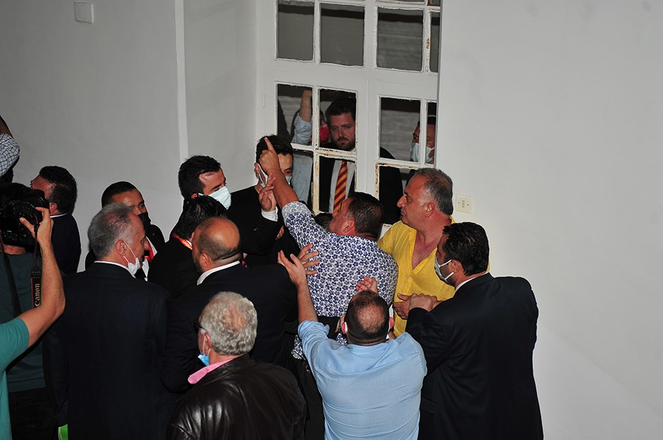 Galatasaray seçiminde gerginlik | NTVSpor.net