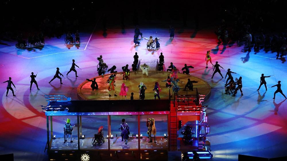 Tokyo Paralimpik Oyunları'nın açılış töreni yapıldı  - 3. Foto